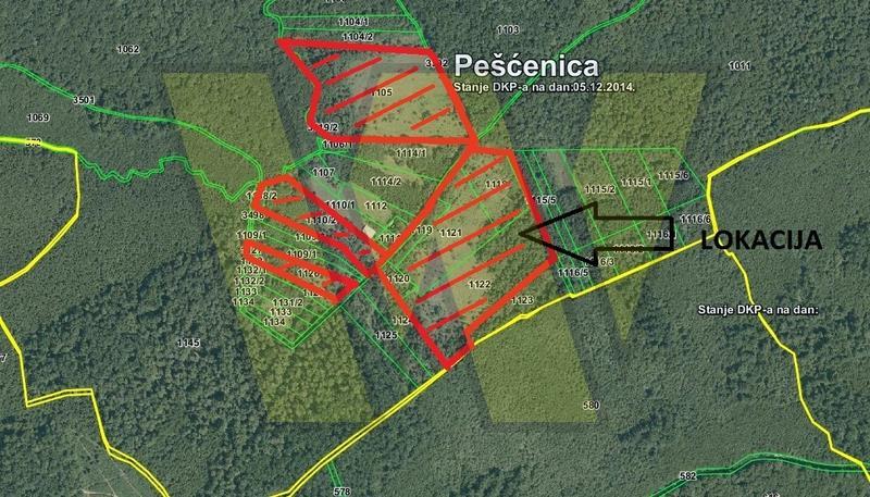 Pešćenica Lekenik poljoprivredno zemljište