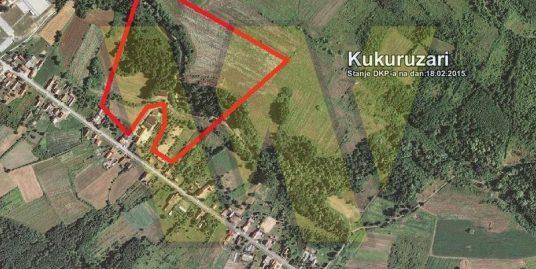 Donji Kukuruzari – zemljište