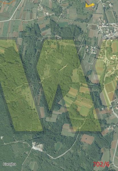 Više zemljišta – Karojba, Motovun